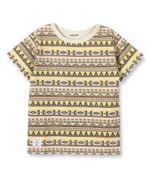 RADCHAP/オルテガ柄半袖Tシャツ/501956895