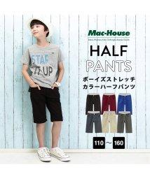 MAC HOUSE(kid's)/RUSH HOUR ボーイズ ハーフパンツ M21438/501957337