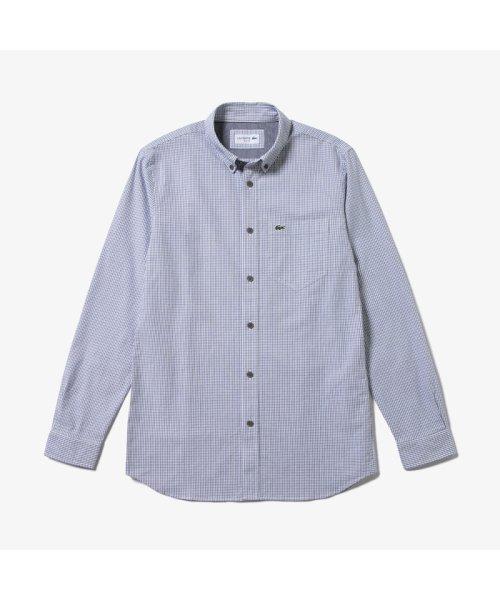 LACOSTE Mens(ラコステ メンズ)/ストレッチオックスフォードボタンダウンシャツ/CH7093L