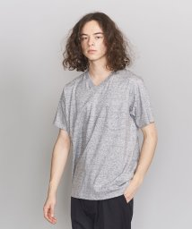 BEAUTY&YOUTH UNITED ARROWS/BY クリスピーコットン 1ポケット Vネック Tシャツ/501960356