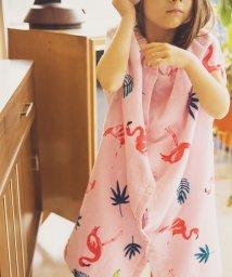 green label relaxing (Kids)/GLR 袖口付きマキタオル/モチーフ 80cm/501960370