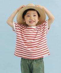 URBAN RESEARCH DOORS(Kids)/FORK&SPOON ボーダーワイドTシャツ(KIDS)/501961037