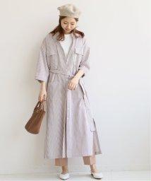 Spick & Span/【LEYA】 ストライプシャツドレス/501961574