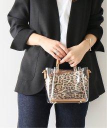 Spick & Span/≪予約≫【SONDRAROBERTS】Leopard insert clear BAG◆/501961582