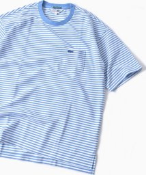 SHIPS MEN/LACOSTE: 別注 ドロップテイル ビッグ ポケット Tシャツ/500908246