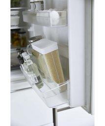YAMAZAKI/【ヤマザキ】1合分別 冷蔵庫用米びつ プレート ホワイト/501928147