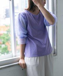 URBAN RESEARCH/【KBF+】袖シアーボリュームカットソー/501931819