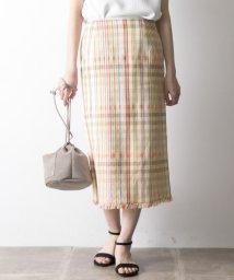 URBAN RESEARCH OUTLET/【UR】MKマルチチェックタイトスカート/501932390
