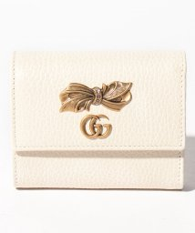 GUCCI/【GUCCI】3つ折り財布 / PETIT BOW 【M.WH/PERF.PINK/CRYST】/501936065