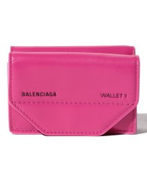 BALENCIAGA/【BALENCIAGA】3つ折り財布/ETUI MINI WALLET【CYCLAMEN】/501938538