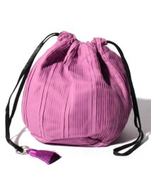 URBAN RESEARCH/【WAREHOUSE】フリンジ付プリーツ巾着BAG/501941824
