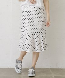 URBAN RESEARCH/【WAREHOUSE】裾フレアドットスカート/501941881
