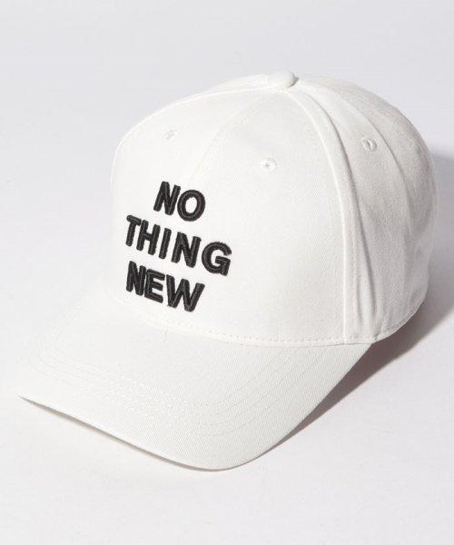 BENETTON (women)(ベネトン(レディース))/メッセージ刺繍キャップ・帽子/19P6G0PD41J6
