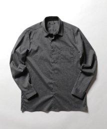 Stutostein/麻混ストレッチシャツ/501949911