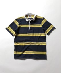 NOLLEY'S goodman/【BARBARIAN/バーバリアン】別注 半袖ラガーシャツ(GCSS)/501949971