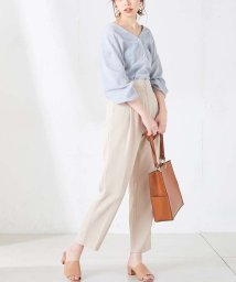 NICE CLAUP OUTLET/【natural couture】フロントジップテーパード/501952603