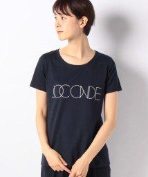 MADAM JOCONDE/【洗える】コットン天竺/ロゴプリントTシャツ/501955390