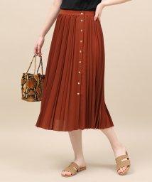ROPE' mademoiselle/サイドボタンプリーツスカート/501961312