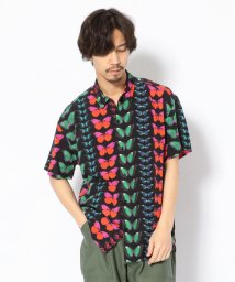 LHP/PLEASURES/プレジャーズ/BUTTERFLY S/S BUTONUP SHIRTS/バタフライショーツスリーブシャツ/501961661