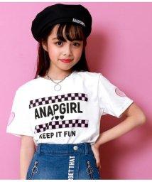 ANAP GiRL/ハートメッシュ開トップス/501961746