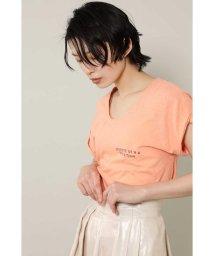 ROSE BUD/[7月号GISELe掲載]ロゴTシャツ/501961895