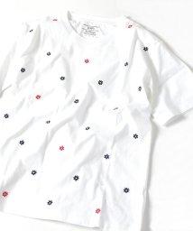 SHIPS MEN/SU: スモール フラワー エンブロイダリー Tシャツ/501962524