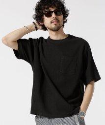 nano・universe/二重編みジャガードBIG Tシャツ/501962609