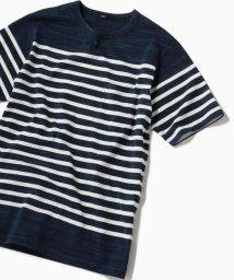SHIPS MEN/SC: MADE IN JAPAN スペック ボーダー ポケット Tシャツ/501962623