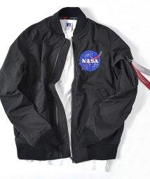 SHIPS MEN/ALPHA: SHIPS別注 ボンディング MA-1 【NASA】/501962625
