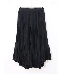HAPPY EXP/シフォンプリーツ切替えスカート/501962739
