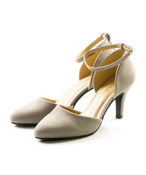 FOOT PLACE(フットプレイス)/レディース パンプス セパレート ストラップ MS-5430/MS-5430-SS