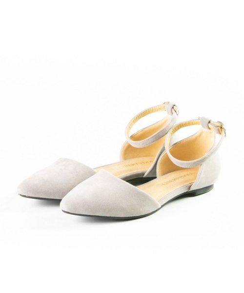 FOOT PLACE(フットプレイス)/レディース パンプス ローヒール ストラップ MS-5432/MS-5432-SS
