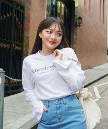 sonyunara/SONYUNARA(ソニョナラ)mischievousTシャツ/501963050
