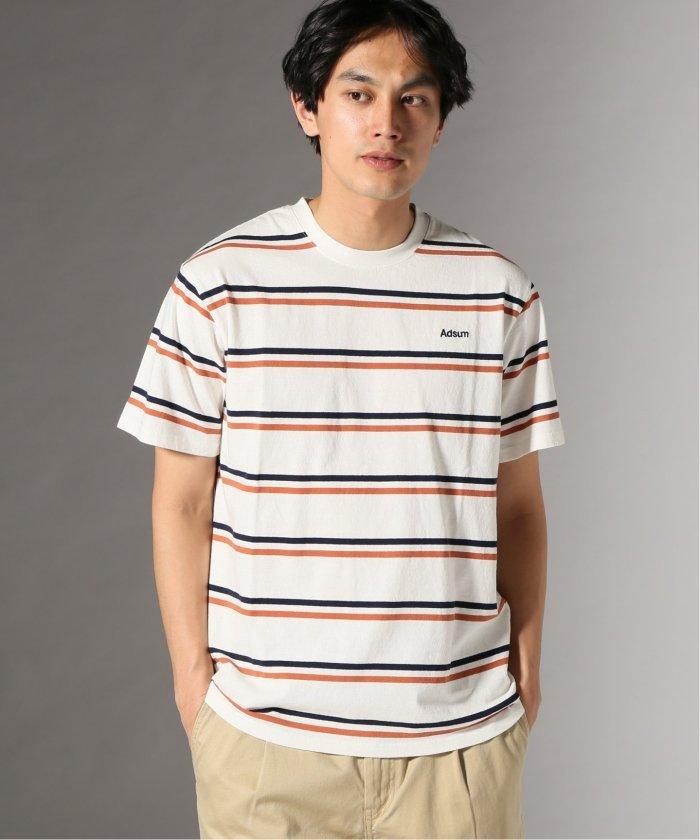 Adsum/アドサム: SS Stripe Tシャツ