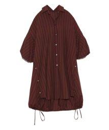 styling//パフスリーブロングシャツ/501964172