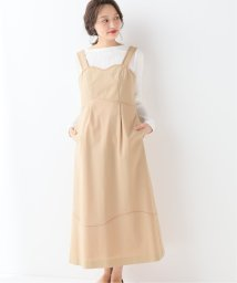 SLOBE IENA/AVERY ROW SUNSHINE CONTRAST CAMISOLE DRロングワンピース/501964447