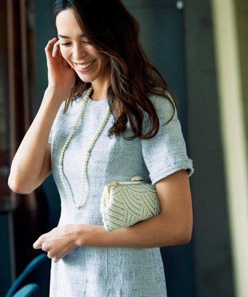 NIJYUSANKU(LARGE SIZE)(23区(大きいサイズ))/【マガジン掲載】Brilliant tweed dress ワンピース/OPWWKM0741