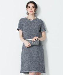 NIJYUSANKU(LARGE SIZE)/【マガジン掲載】Brilliant tweed dress ワンピース/501964546