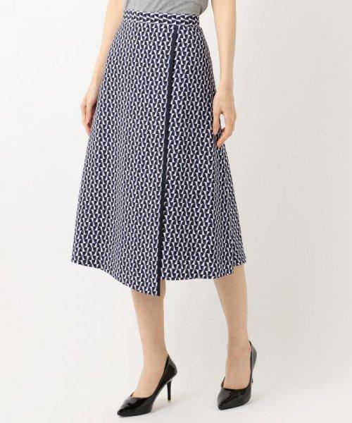 JIYU-KU (自由区)/【Class Lounge】OPTICAL PRINT スカート/SKWCKM0335