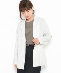 URBAN RESEARCH/【SENSEOFPLACE】リネンブレストジャケット/501931996