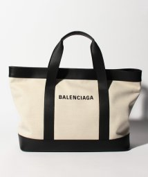 BALENCIAGA/【BALENCIAGA】トートバッグ/NAVY TOTE 【NATUREL/NOIR】/501938532
