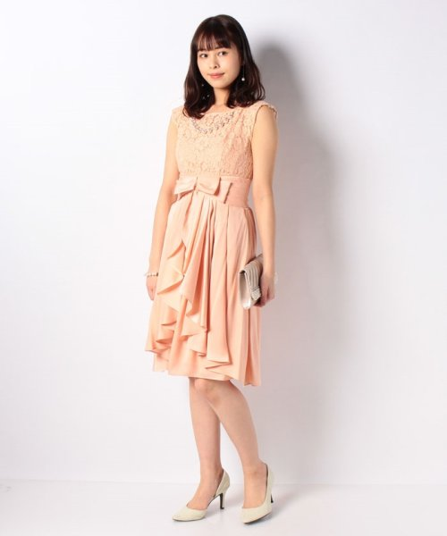 Eimy Peral(エイミーパール(ドレス))/パールネックレス付きドレス/24449