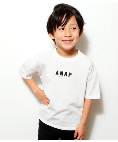 ANAP KIDS(アナップキッズ)/BACKプリントTシャツ/0437800036