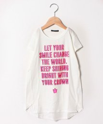 SISLEY YOUNG/メッセージAライン半袖Tシャツ・カットソー/501948212