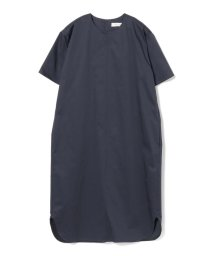 BEAMS OUTLET/【洗える】Demi-Luxe BEAMS / サテンストレッチ ワンピース/501947681