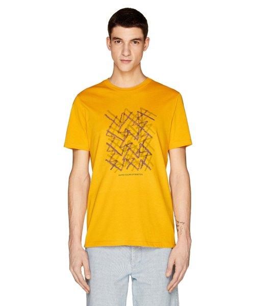 BENETTON (mens)(ベネトン(メンズ))/グラフィック半袖Tシャツ・カットソー/19P3U53J13C2