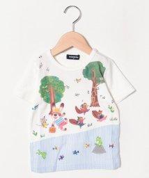 kladskap/コロボックルコラボ おさんぽプリントTシャツ/501954206