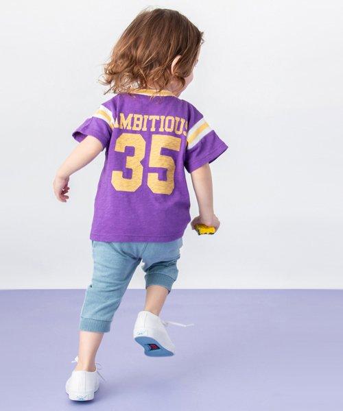 petit main(プティマイン)/ボール刺しゅうナンバリングTシャツ/9591230