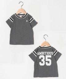 petit main/ボール刺しゅうナンバリングTシャツ/501954207
