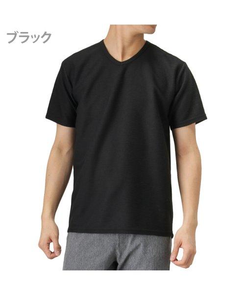 MAC HOUSE(men)(マックハウス(メンズ))/Navy 倍速 ドライTシャツ MH/03624SS/01222100720